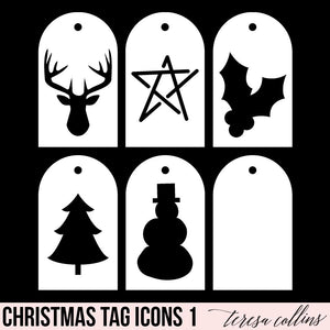 Christmas Icon Tags 1