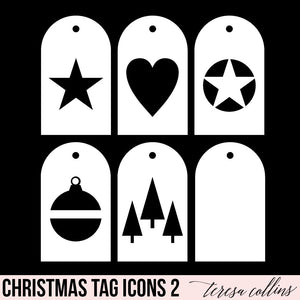 Christmas Icon Tags 2
