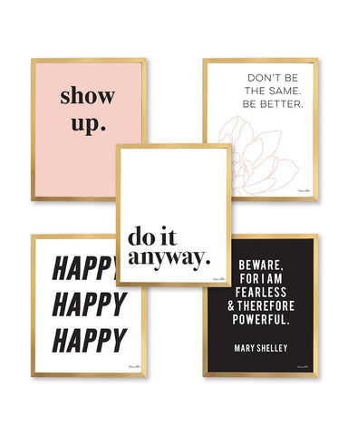Do It Anyway Print Set