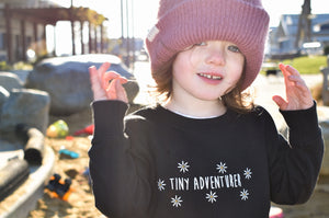 Tiny Adventurer Toddler Sweatshirt