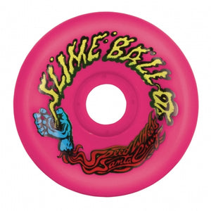 Slime Balls 60mm Vomits Neon Pink 97a