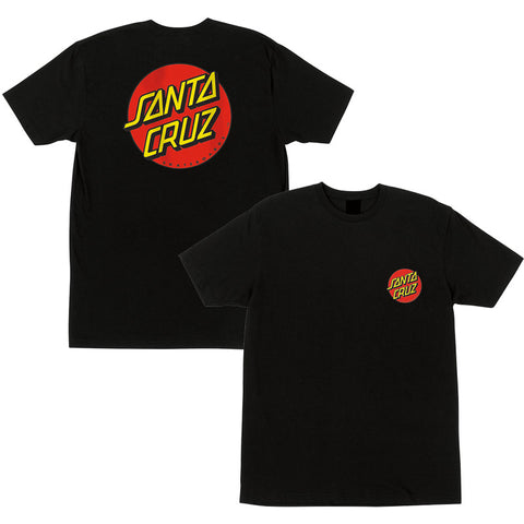 SANTA CRUZ T-SHIRT CLASSIC DOT CHEST