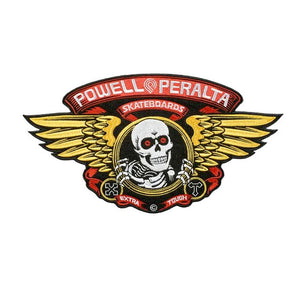 POWELL PERALTA PATCH - WINGED RIPPER