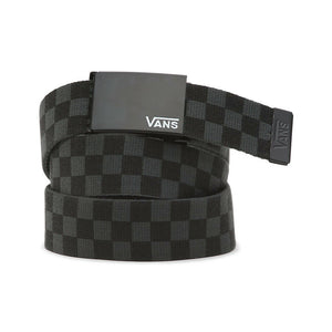 Vans Deppster II Black & Charcoal Checkered Belt