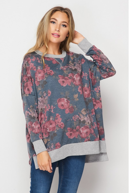 The Leigh Floral Sweatshirt