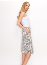 The Carole Animal Print T-Shirt Skirt