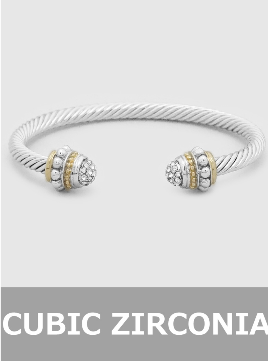 David Yurman Look-a-Like Bangle Bracelet