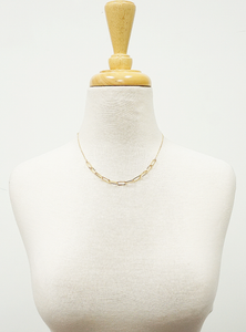 18 Gold Dipped Brass Chocker Necklace