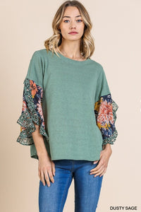 Marie Blouse in Sage