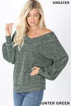 Kimberly Balloon Sleeve Knit Sweater