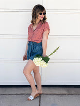 Callie Denim Shorts