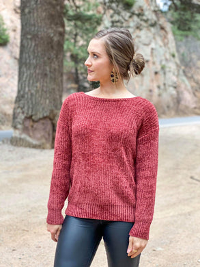 Kam Knotted Sweater
