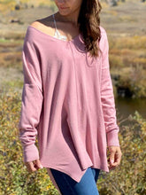 Sharon Rose Pink Sweater