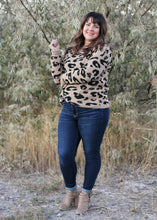Load image into Gallery viewer, TALYSA LEOPARD SWEATER