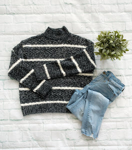 LUCY STRIPED SWEATER
