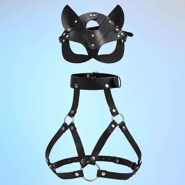 Body Harness With Mask