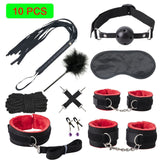 Sexy PU Leather BDSM Kits
