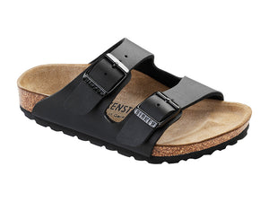BIRKENSTOCK ARIZONA KIDS BIRKO-FLOR IN BLACK