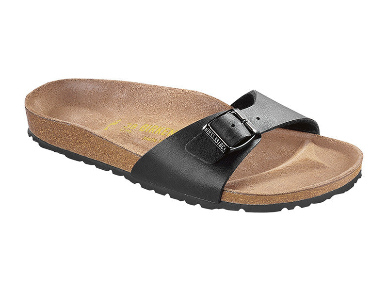 BIRKENSTOCK MADRID BIRKO-FLOR IN BLACK