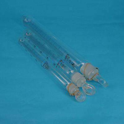 1-100ml Graduated Lab Clear Glass Test Tube Round Bottom with Stopper Glassware, , www.suppashoppa.co.uk