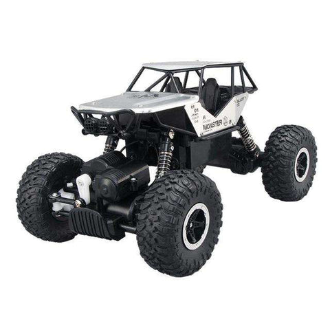 1/18 2.4GHZ 4WD Radio Remote Control Off Road RC Car ATV Buggy Monster Truck Cool For Kid Toy gift t15, Silver, www.suppashoppa.co.uk