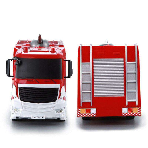 1:26 Scale Remote Control Spray Fire Truck 2.4G Radio Remote Control Car Kids Toys for Children RC Truck, , www.suppashoppa.co.uk
