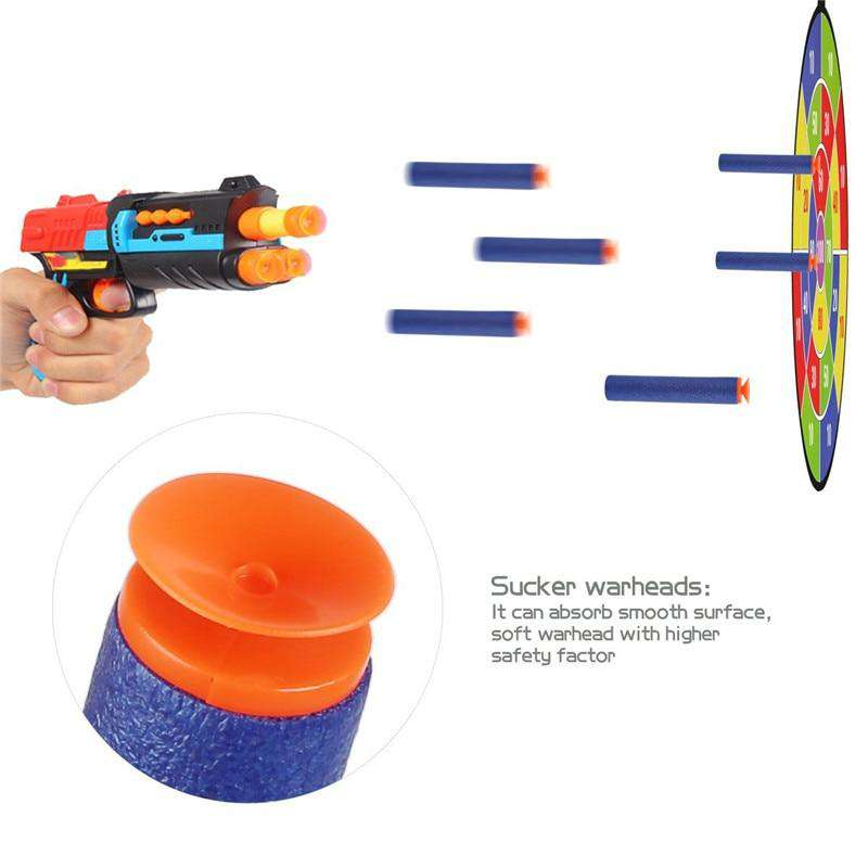7.2 cm Refill Darts Blasters with Sucker Warheads for Nerf