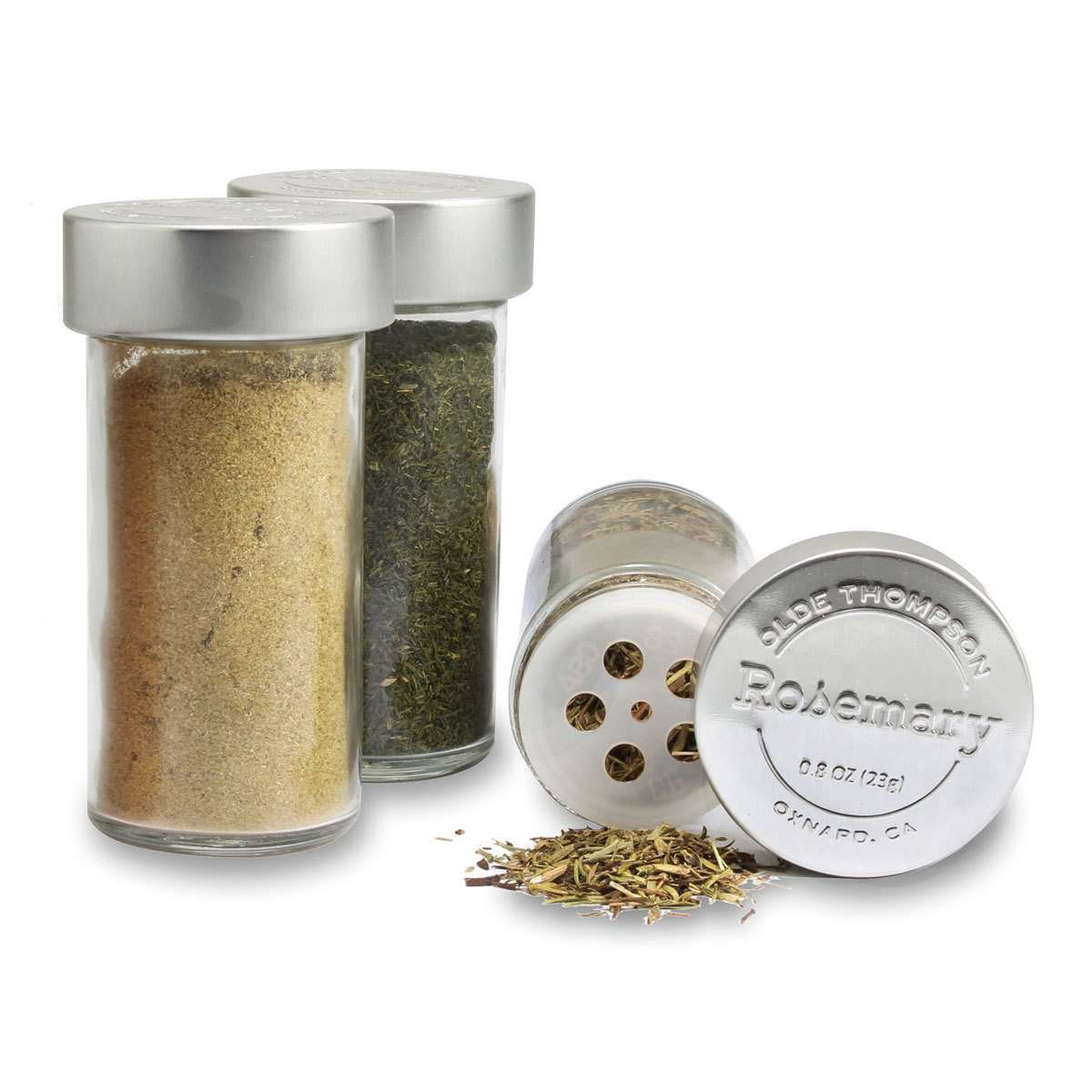 Olde Thompson Stainless Steel 20 Jar Spice Rack With SpicesOlde Thompson Stainless Steel 20 Jar Spice Rack With Spices