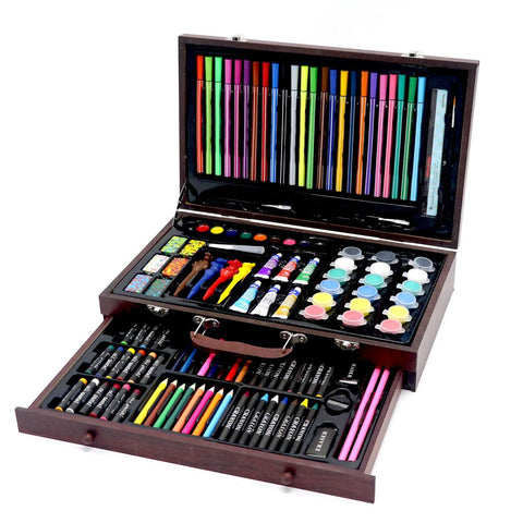 130pcs art stationery set painting tools,