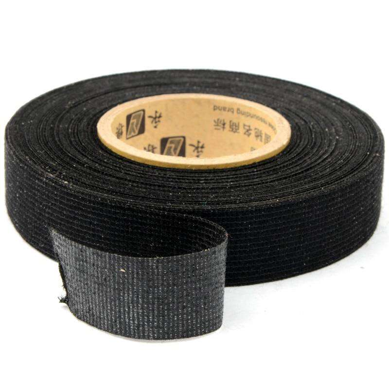 19mmx15m Tesa Coroplast Adhesive Cloth Tape for Cable Harness Wiring Loom P0.5, , www.suppashoppa.co.uk