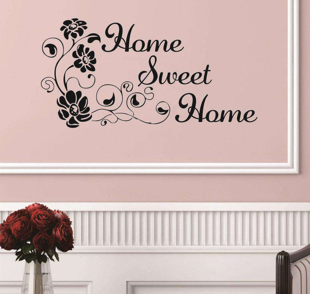 1Pc sweet home wall stickers home decorations 99*56cm