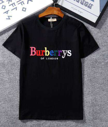 Europe Brand BB design Summer Street Europe embroidery Fashion burry Men t-shirts champions Cotton short sleeve T shirt Casual Women Tee 235