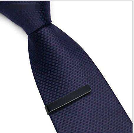 8x8x0.8cm Business Men Tie Clips