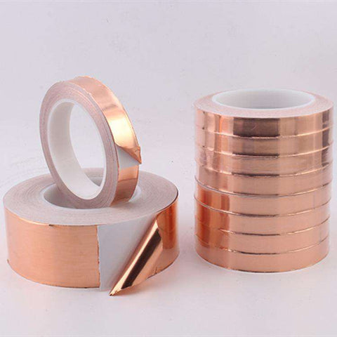 20 Meters Single Side Conductive Copper Foil Tape
