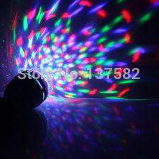 Full Color 3W Rotate LED RGB lamp DJ party stage Bulb