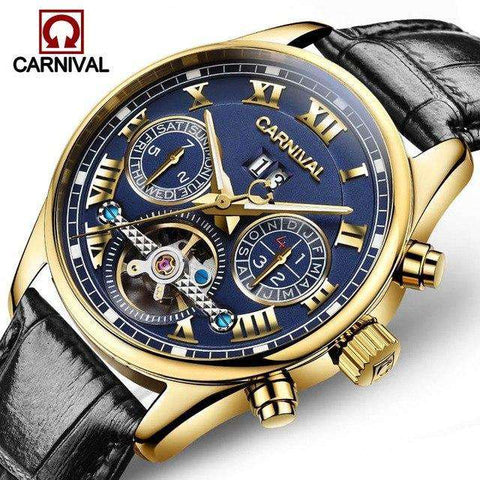 2017 Luxury Brand Carnival Tourbillon watches men mechanical watches sapphire Waterproof 30m fashion men watch hours Relogio, 05, www.suppashoppa.co.uk