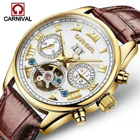 2017 Luxury Brand Carnival Tourbillon watches men mechanical watches sapphire Waterproof 30m fashion men watch hours Relogio, 08, www.suppashoppa.co.uk