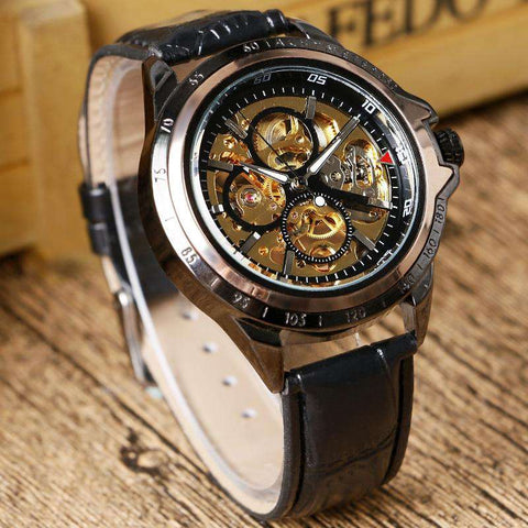 2017 Luxury Brand Watches Men Mechanical Hand-wind Fashion Casual Male Sports Watch Clock Full Steel Military Wristwatches, , www.suppashoppa.co.uk