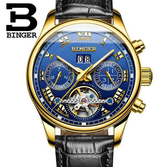 2017 Luxury Mechanical Watch Tourbillon Designer Watches Top Quality Business Watch with Date Day Full Steel Watch for Men, 12, www.suppashoppa.co.uk
