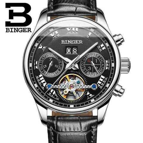2017 Luxury Mechanical Watch Tourbillon Designer Watches Top Quality Business Watch with Date Day Full Steel Watch for Men, 08, www.suppashoppa.co.uk