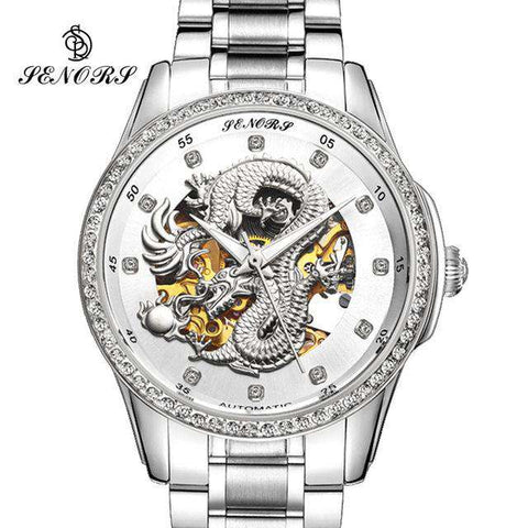 2017 New Automatic Watches Men Luxury Business Watch 3D Carving Dragon Gold Skeleton Watch Male Diamond Night vision, 06, www.suppashoppa.co.uk