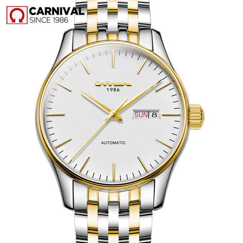 2017 Watches Men Luxury Top Brand Carnival Mechanical Watch relogio masculino Fashion business Sapphire sport casual Wristwatch