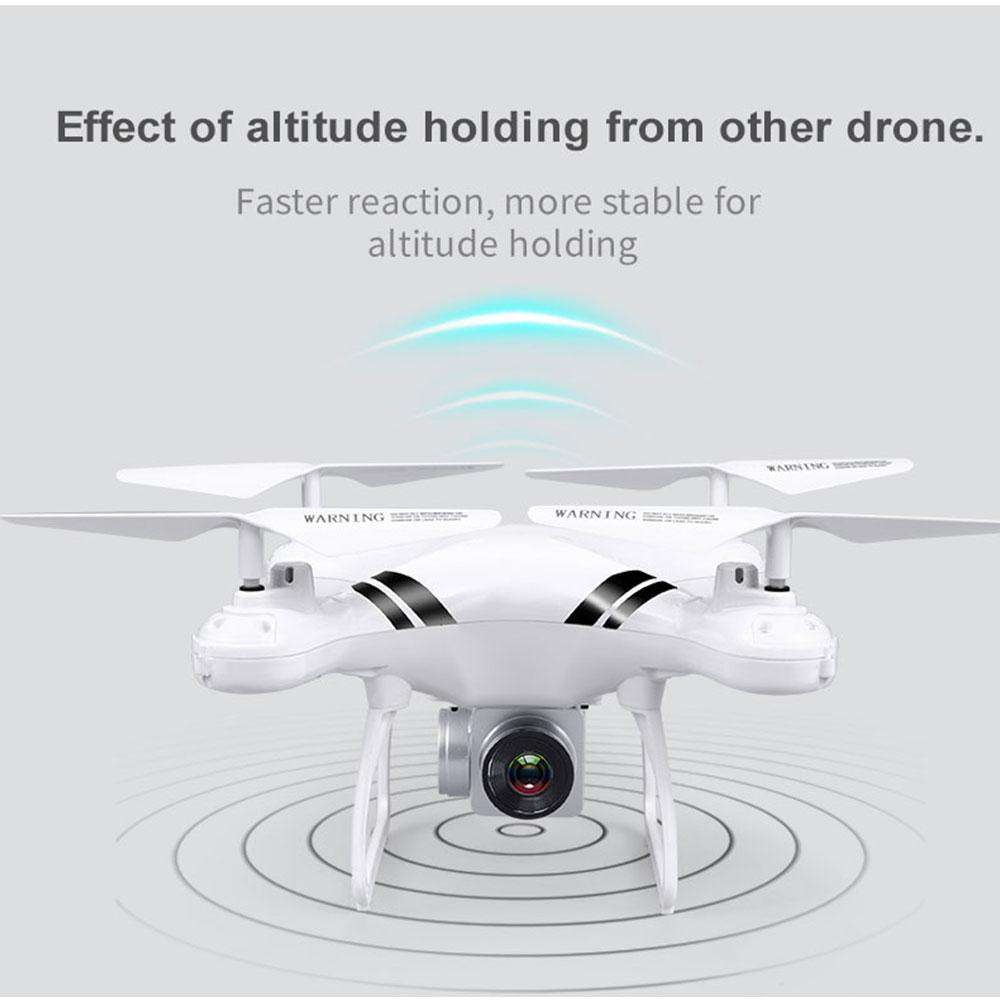 2018 RC Drone Wifi FPV HD Adjustable Camera 0.3MP/5MP 480P/1080P Altitude Hold One Key Return Headless Quadcopter, No Camera White, www.suppashoppa.co.uk