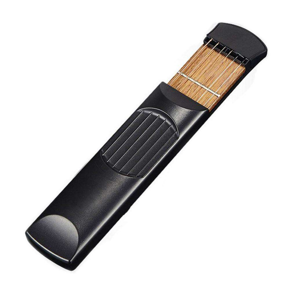 Pocket Acoustic Guitar Practice Tool 6 String Fingerboard 4 Fret Chord Trainer Portable Gadget