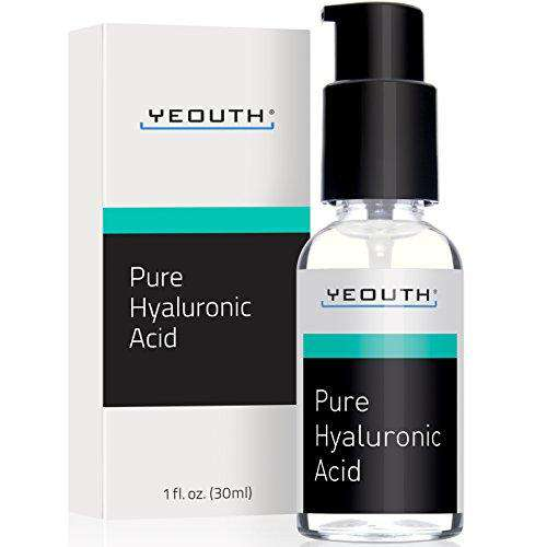 100% Pure Hyaluronic Acid Serum. ALL NATURAL, Medical Quality, Maximum Strength Daily Moisturizer. NO OTHER Product Offers More Active Ingredient. Attracts And HOLDS MOISTURE To Maximize Skin Hydration. Your Skin Will Be FULLER, PLUMPER, TIGHTER. Get Your