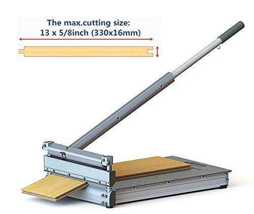 330mm Pro Flooring Cutter,for Laminate, Engineered Wood, Fiber-Cement siding, VCT, LVT, RVP, SPC, LVP, WPC, Vinyl Tile Flooring and More.MC-330