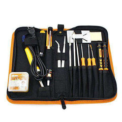 Welding Assist 30W Soldering iron Sucker Tweezer Screwdrivers Spudger Repair Tool Set