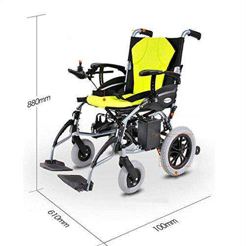 Electric Wheelchair Lithium Battery Folding Portable High Endurance Elderly Disabled