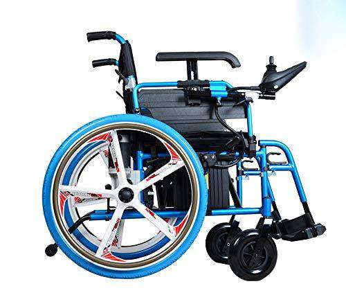 Magnesium-Aluminum Five-Prong Old Electric Wheelchair