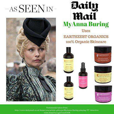 Eczema Cream - As Seen in Daily Mail Our 100% Organic Skincare Is Used By MyAnna Buring - Gentle Fast Acting Chemical Free All Natural Rescue Balm, Works Best For Dry, Itchy, Chapped Skin to Reduce Redness & Peeling - Relieves, Calms and Soothes While it